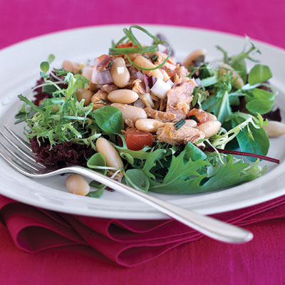 Italian Tuna & White Bean Salad recipe for no hunger diet