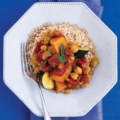 Moroccan Sweet Potato Stew for no hunger diet
