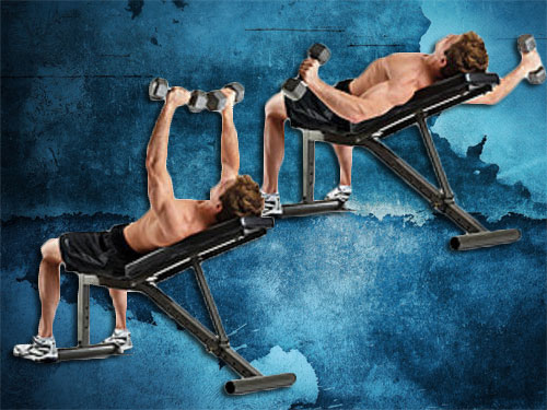 Decline dumbbell fly instructions