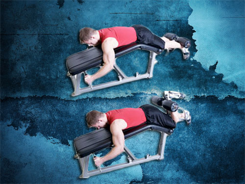 Lying Leg Curls Exercise