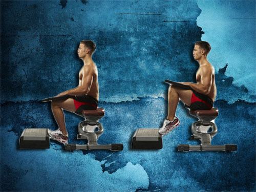 Seated Calf Raise Instructions